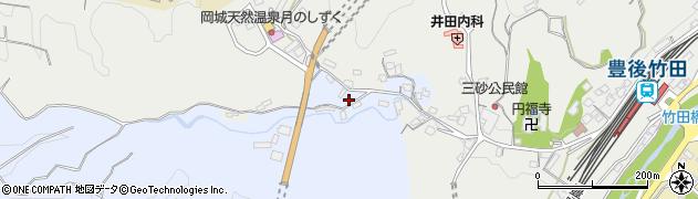 大分県竹田市飛田川3482周辺の地図