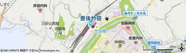 大分県竹田市会々2335周辺の地図