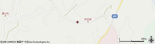 大分県竹田市志土知1376周辺の地図