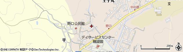 大分県佐伯市鶴望3201周辺の地図