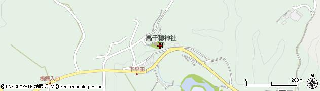 大分県竹田市平田417周辺の地図