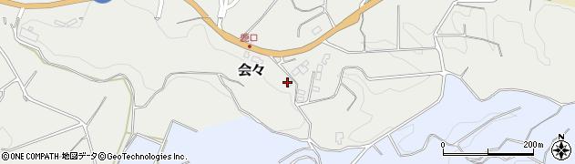 大分県竹田市会々3221周辺の地図