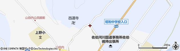 大分県佐伯市弥生大字井崎2515周辺の地図