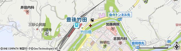 大分県竹田市会々2330周辺の地図