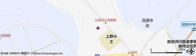 大分県佐伯市弥生大字上小倉349周辺の地図