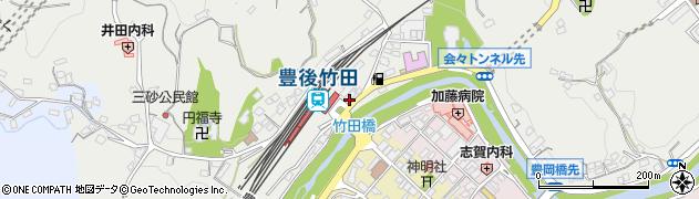 大分県竹田市会々2332周辺の地図