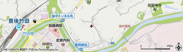 大分県竹田市会々2159周辺の地図