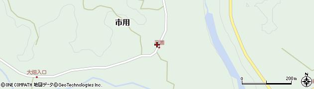 大分県竹田市市用236周辺の地図