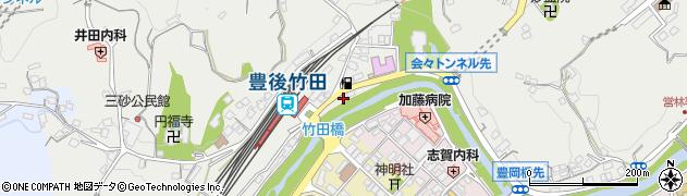 大分県竹田市会々2329周辺の地図