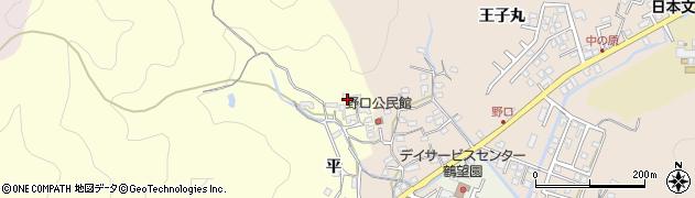 大分県佐伯市鶴望3128周辺の地図