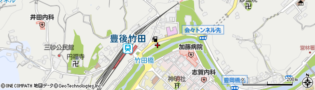 大分県竹田市会々2343周辺の地図
