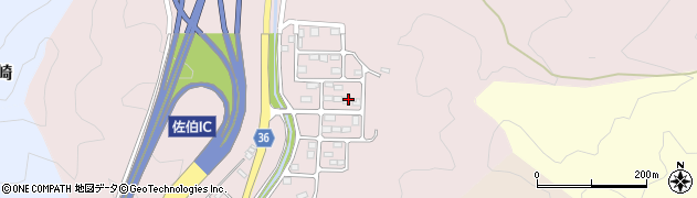 大分県佐伯市上岡3224周辺の地図