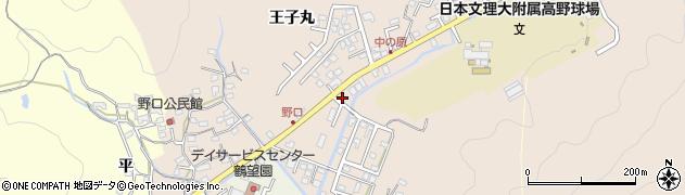 大分県佐伯市鶴望3471周辺の地図
