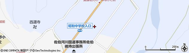 大分県佐伯市弥生大字井崎1225周辺の地図