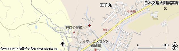 大分県佐伯市鶴望3428周辺の地図