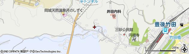 大分県竹田市飛田川3529周辺の地図