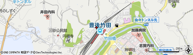 大分県竹田市会々2337周辺の地図