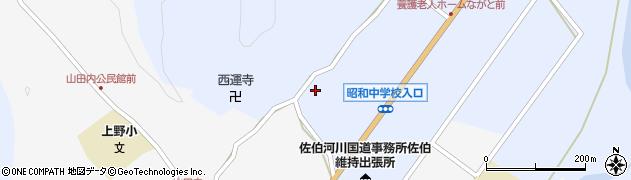 大分県佐伯市弥生大字井崎1311周辺の地図