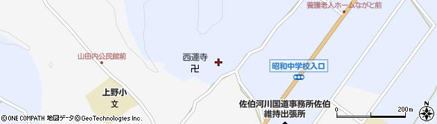 大分県佐伯市弥生大字井崎2522周辺の地図