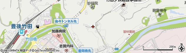 大分県竹田市会々2152周辺の地図