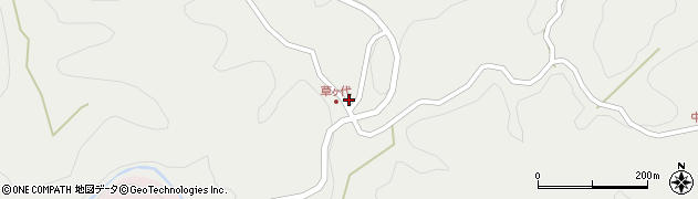 大分県竹田市志土知1533周辺の地図