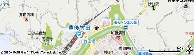 大分県竹田市会々2249周辺の地図