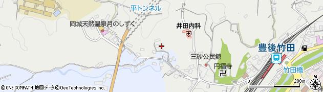 大分県竹田市飛田川3545周辺の地図