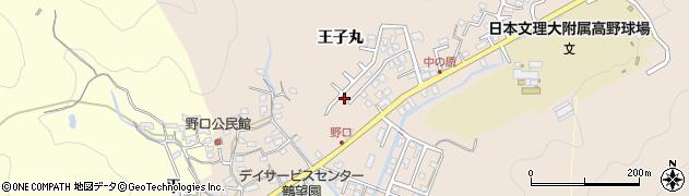 大分県佐伯市鶴望3466周辺の地図