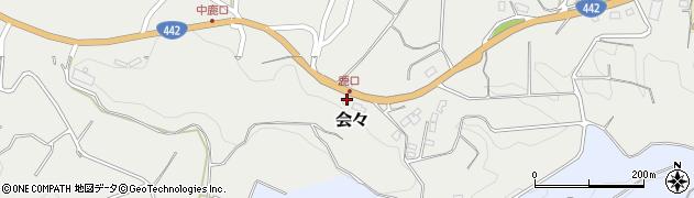 大分県竹田市会々3220周辺の地図