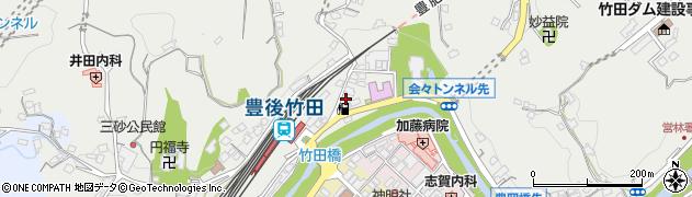 大分県竹田市会々2258-1周辺の地図