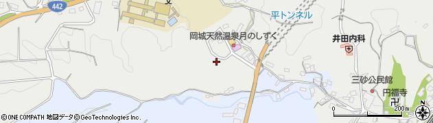 大分県竹田市飛田川三砂周辺の地図