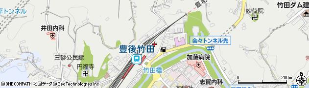大分県竹田市会々2316周辺の地図
