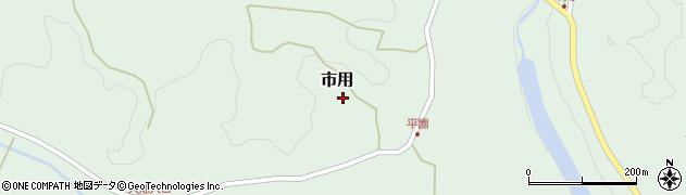 大分県竹田市市用257周辺の地図