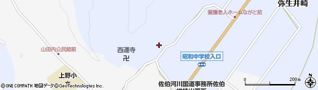 大分県佐伯市弥生大字井崎2568周辺の地図