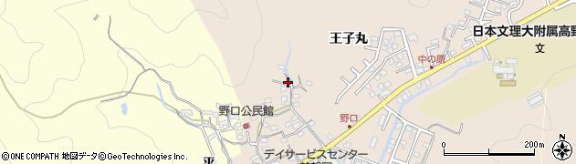 大分県佐伯市鶴望3236周辺の地図