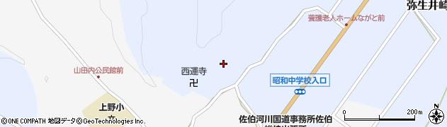 大分県佐伯市弥生大字井崎2476周辺の地図