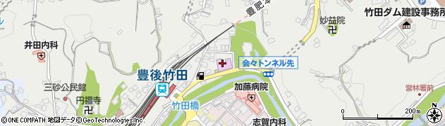 大分県竹田市会々2250周辺の地図