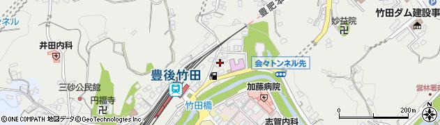 大分県竹田市会々2262周辺の地図