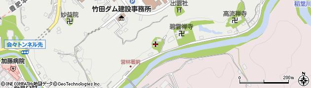 大分県竹田市会々2033周辺の地図
