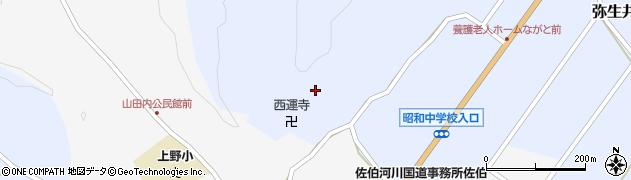 大分県佐伯市弥生大字井崎2471周辺の地図