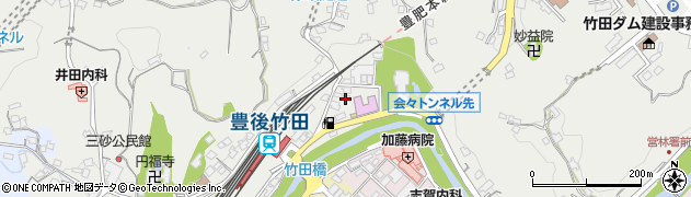 大分県竹田市会々2258周辺の地図