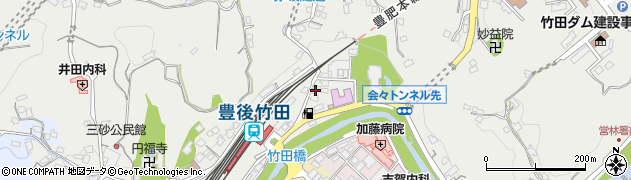 大分県竹田市会々2263周辺の地図