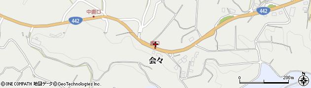 大分県竹田市会々4632周辺の地図