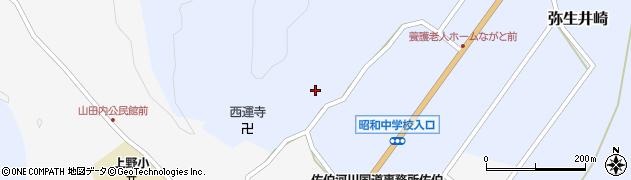 大分県佐伯市弥生大字井崎2482周辺の地図