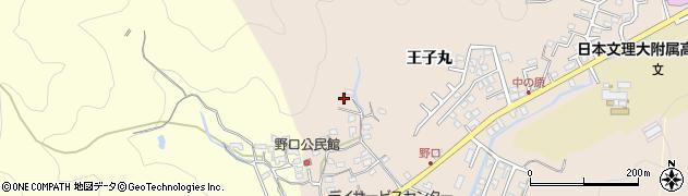 大分県佐伯市鶴望2986周辺の地図