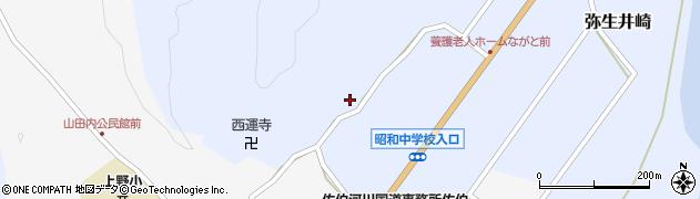 大分県佐伯市弥生大字井崎2449周辺の地図
