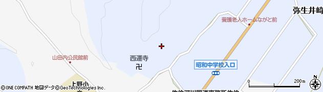 大分県佐伯市弥生大字井崎2478周辺の地図