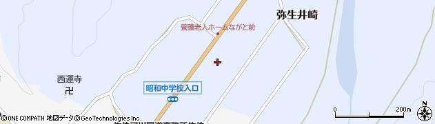 大分県佐伯市弥生大字井崎970周辺の地図