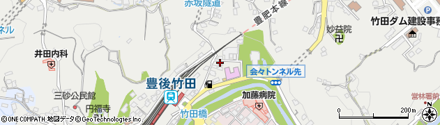 大分県竹田市会々2257周辺の地図