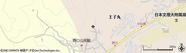 大分県佐伯市鶴望3237周辺の地図
